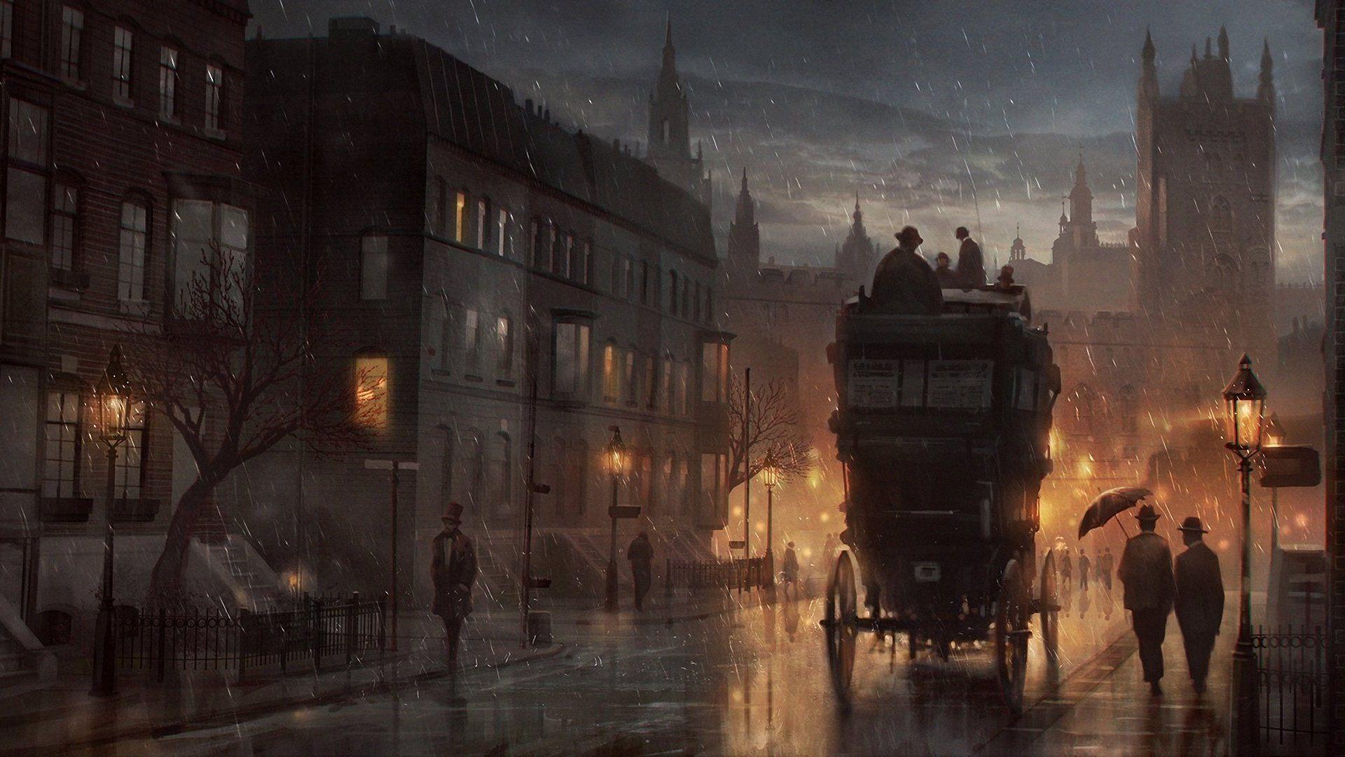 Старый лондон картинки