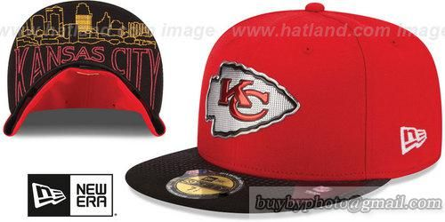 Kansas City Chiefs Fitted Hats 2015 NFL Draft 59FIFTY Original Fit Baseball  Caps Camo 6182c8179b5