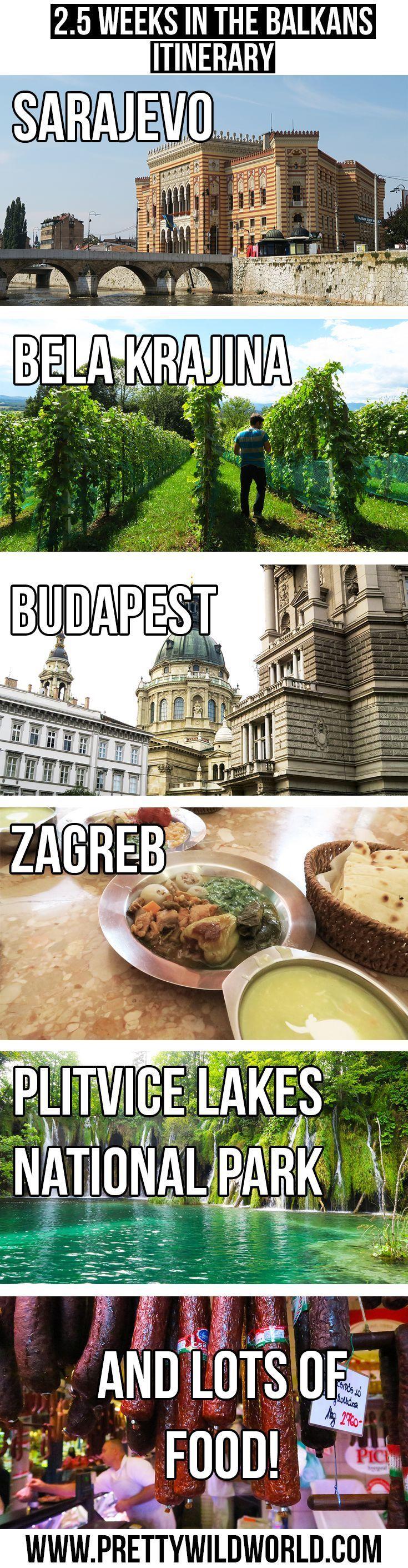2 5 Weeks Europe Itinerary Travel Around The Balkans By Bus Eastern Europe Travel Europe Itineraries Europe Travel Guide