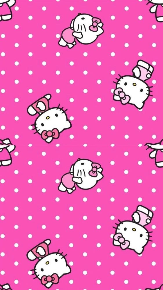 Hello Kitty Wallpaper Mobile Iphone Wallpapers Graphic Art Greeting Cards Clip Backgrounds Walpaper For