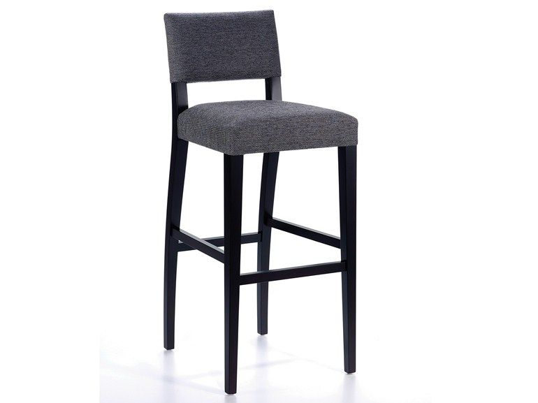 High Upholstered Fabric Barstool Sipe Bar Dream Collection By