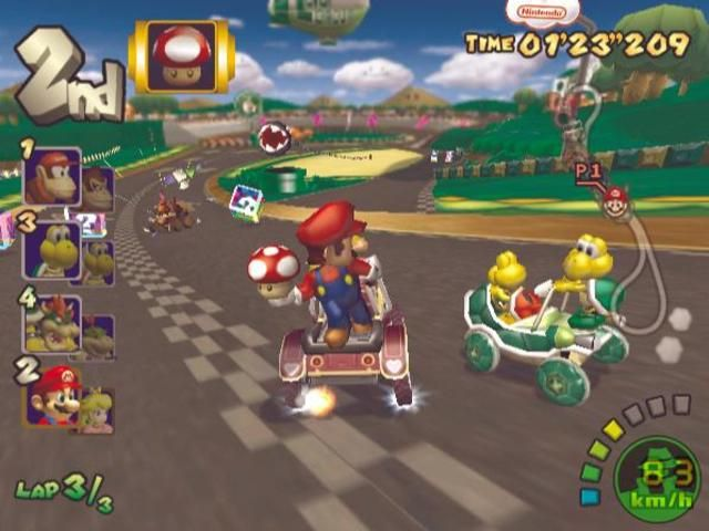 Mario Kart Double Dash Best Race Game Mario Kart Gamecube Mario