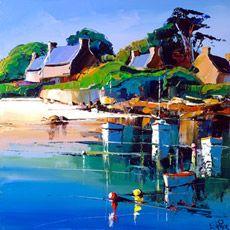 Eric Le Pape, artiste peintre de Bretagne   Galeries de peinture d'Eric Le Pape