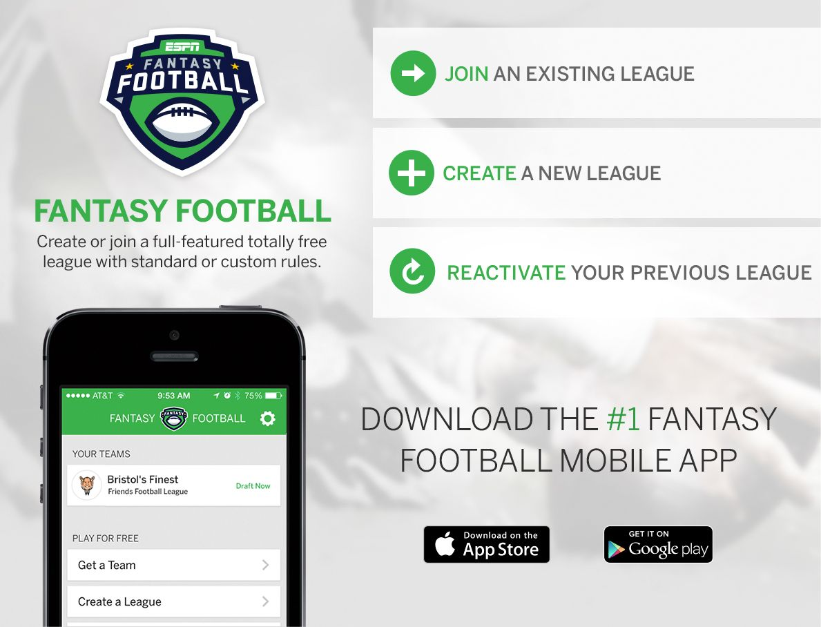 Play Fantasy Football For Free With Images Fantasy Football