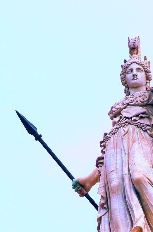 Athena Escultura Grega Arte Grega Panteao Grego