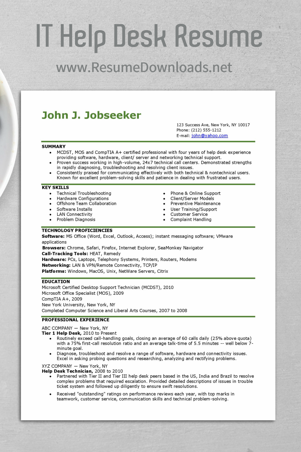 It Resume Examples Click Follow To Get The Best For Your It Career Planning Resume Examples Resume Career Planning
