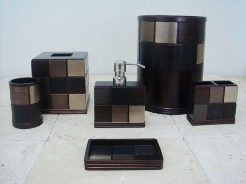 Black Bathroom Accessories Avanti Chalk It Up Bath Collection