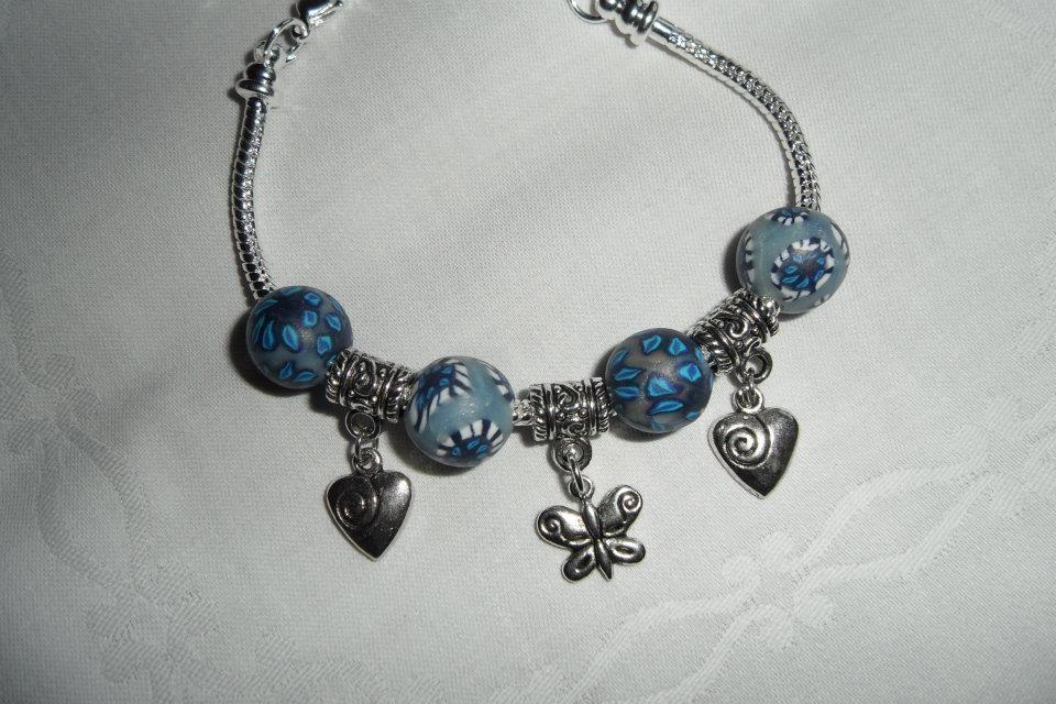 Wechselarmband blau