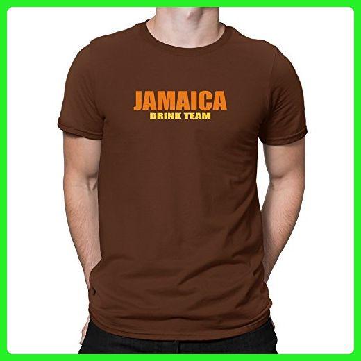 Teeburon Jamaica Drink Team T-Shirt - Food and drink shirts (*Amazon Partner-Link)