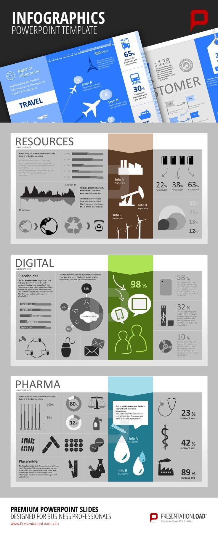 Business infographic : Infographic PowerPoint Templates Use our ...