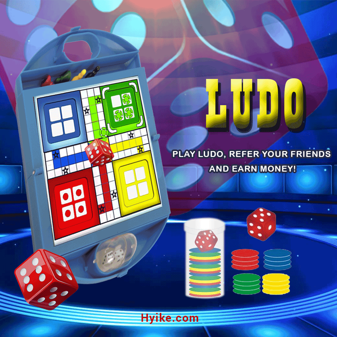 Play Ludo, refer your friends and earn money! Games