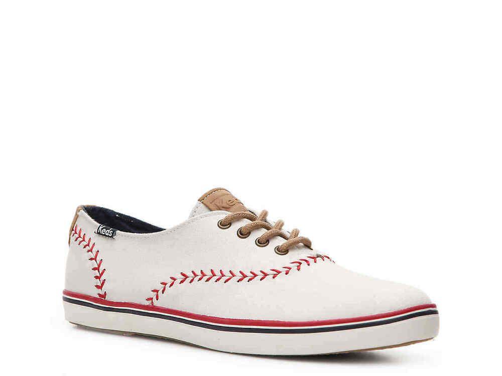 de228abe1173f Keds Champion Pennant Off White Baseball Sneaker Women s Sz 5.5 NEW  Keds   LowTop