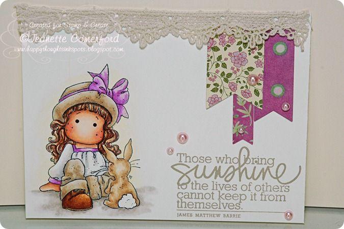 Easter Magnolia stamp