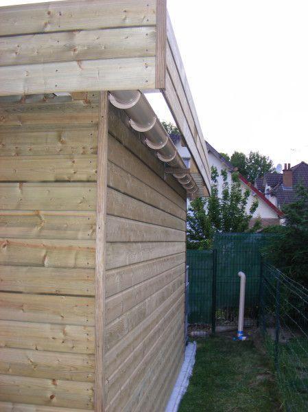 construction de mon abri de jardin   Abri de jardin, Toiture abri de jardin et Abri jardin toit plat