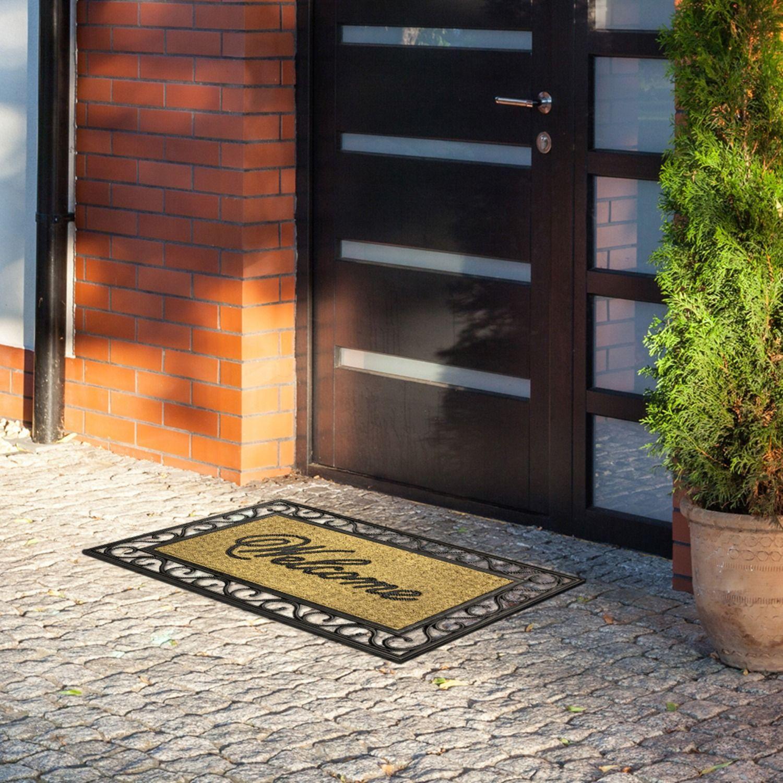 Riscaldamento A Pavimento E Tappeti tappeto/zerbino con 20% in di fibra in cocco naturale e 80