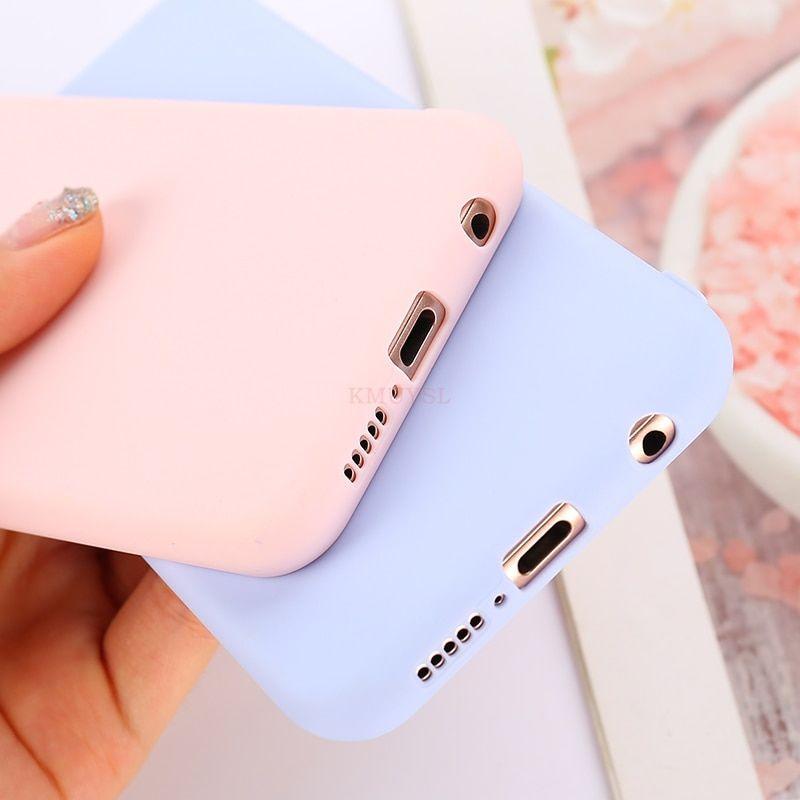 Candy Color Case For Huawei P Smart Y9 Y6 Y7 Pro Prime Y7 2019 P30 Pro P20 Lite Mate 20 Lite 20x On Honor 8x 8c 10 7a 7c Cover Estuche