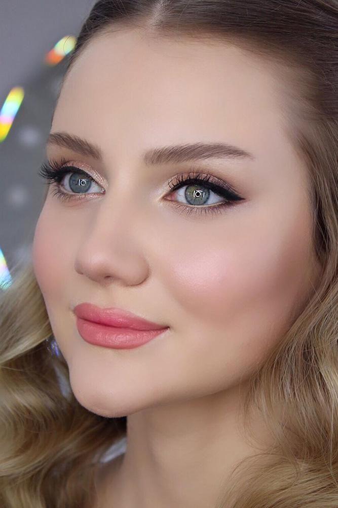 30 Zauberhaftes Brautjungfern Make-up für jede Frau | Hochzeits-Vorwärts