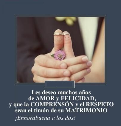 Meme frases para felicitar a los recien casados 1409471097 wedding ideas love marriage - Sorpresas para recien casados ...