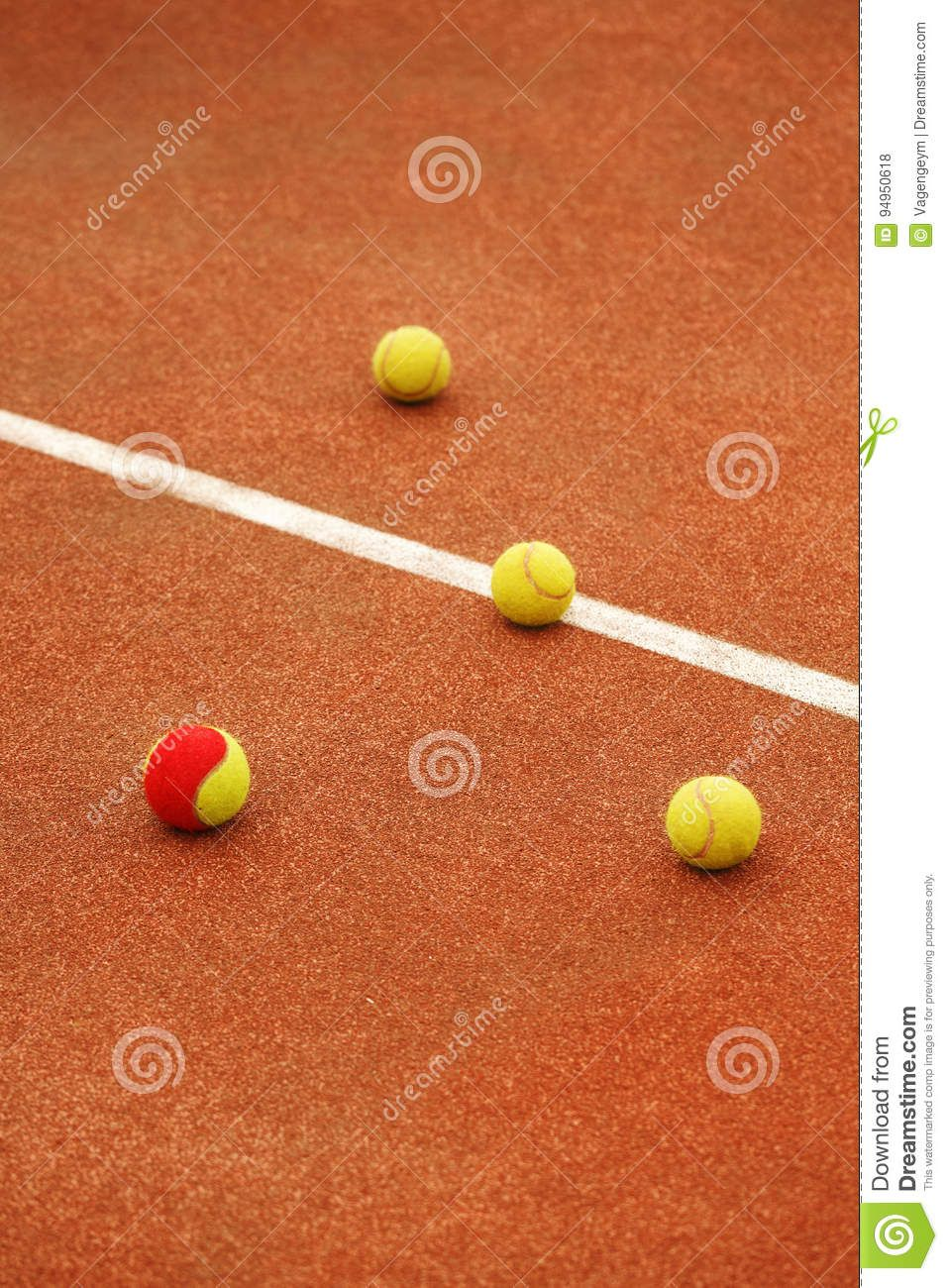 Ball On Tennis Court Background Download From Over 61 Million High Quality Stock Photos Images Vectors Sign Up For Free Today Image 94950618