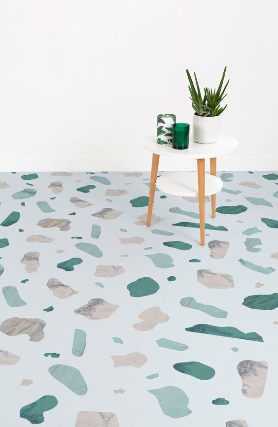 Terra Vinyl Flooring Terrazzo Flooring Vinyl Tile Flooring