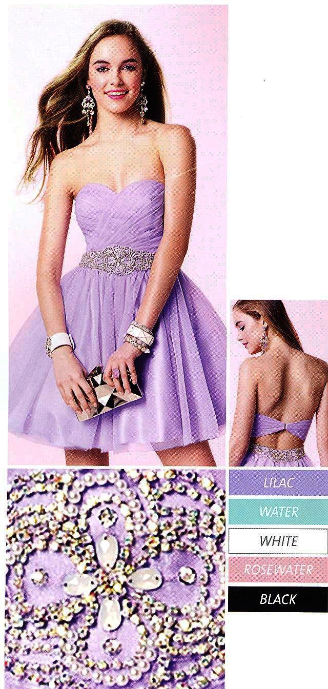 Short evening dresses formal dresses by alyce parisucbrueucbruetulle