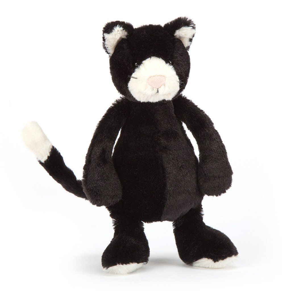 Amazon Com Jellycat Bashful Black And White Kitten Small 7 Inches Toys Amp Games Black And White Kittens Jellycat Stuffed Animals White Kittens
