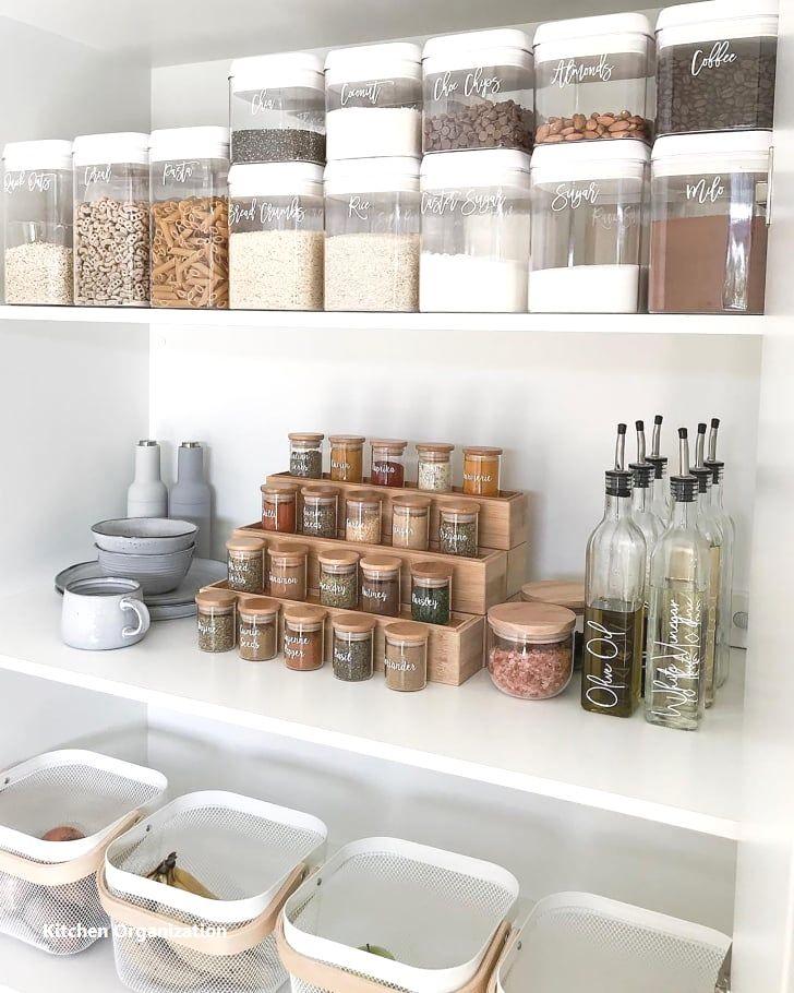 New Kitchen Organization Ideas #kitchenorganizationdiy