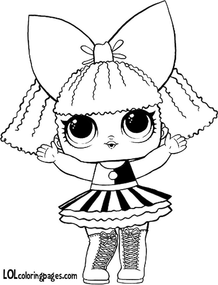 Free Pranksta Coloring Page Lol Surprise Doll Coloring ...