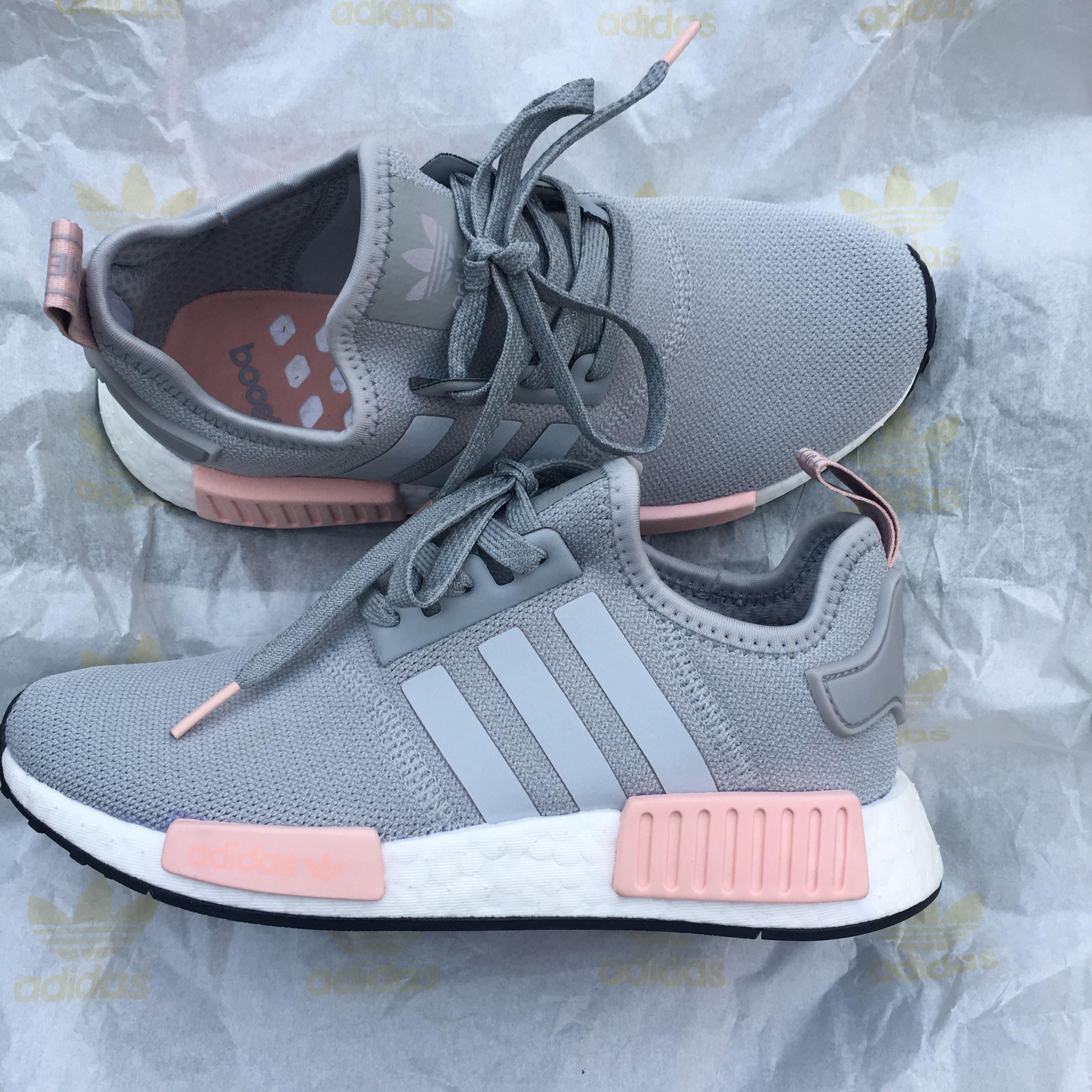 Adidas NMD   Addidas shoes, Grey tennis