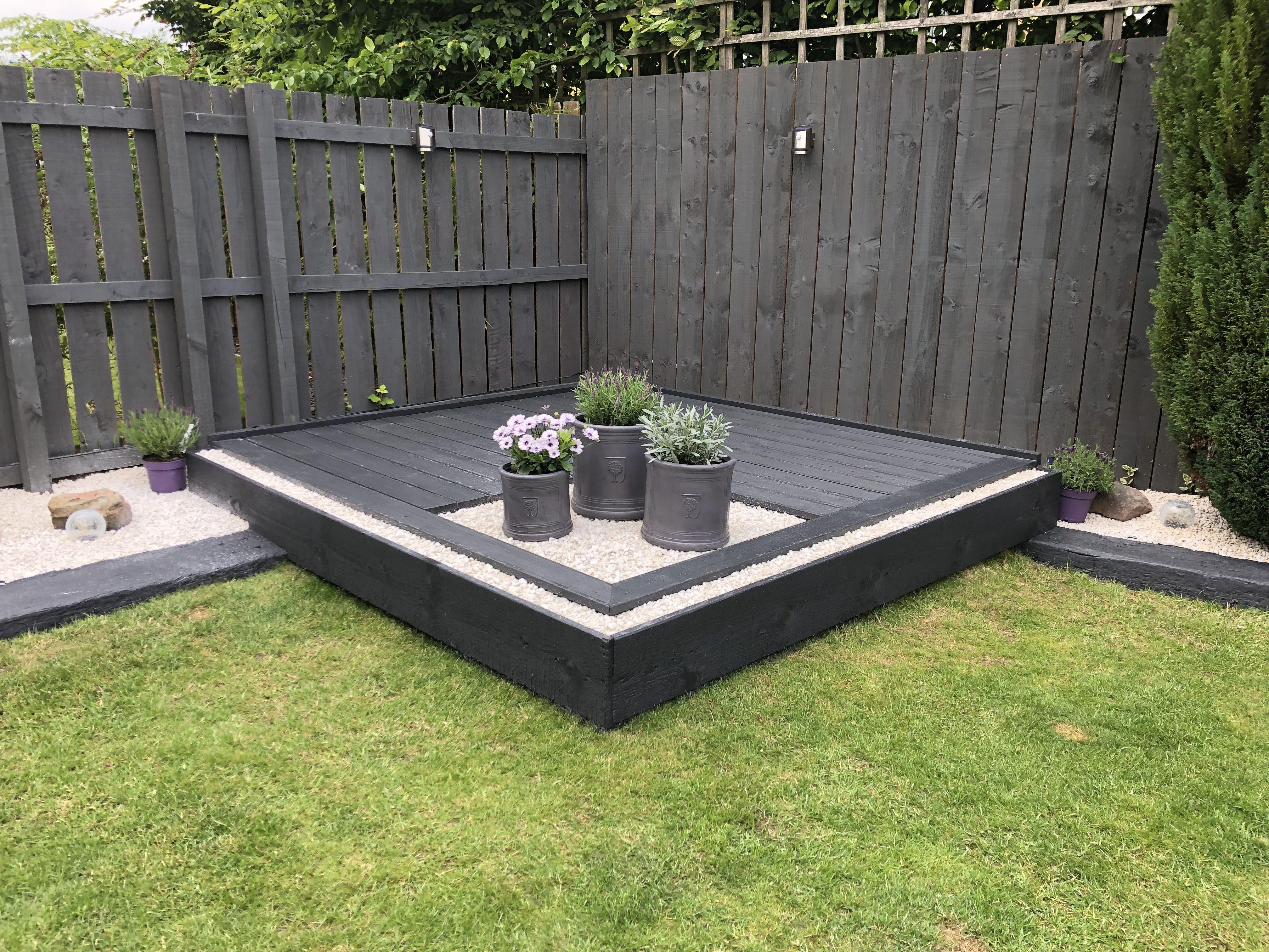 Decking Deck Garden Ronseal Garden Paint Backyard Landscaping