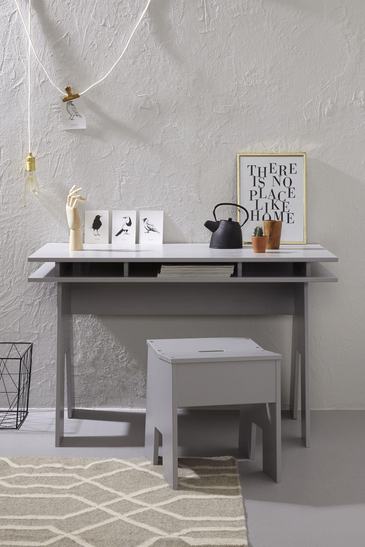 Van studeer- tot woonkamer: dit stoere bureau past overal. #bureau ...