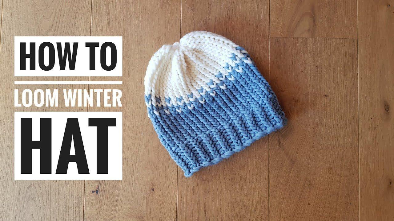 Pin By Tuteate On Tutoriales Telar Loom Knitting Tutorials Loom Knitting Patterns Loom Knitting Tutorial Loom Knit Hat