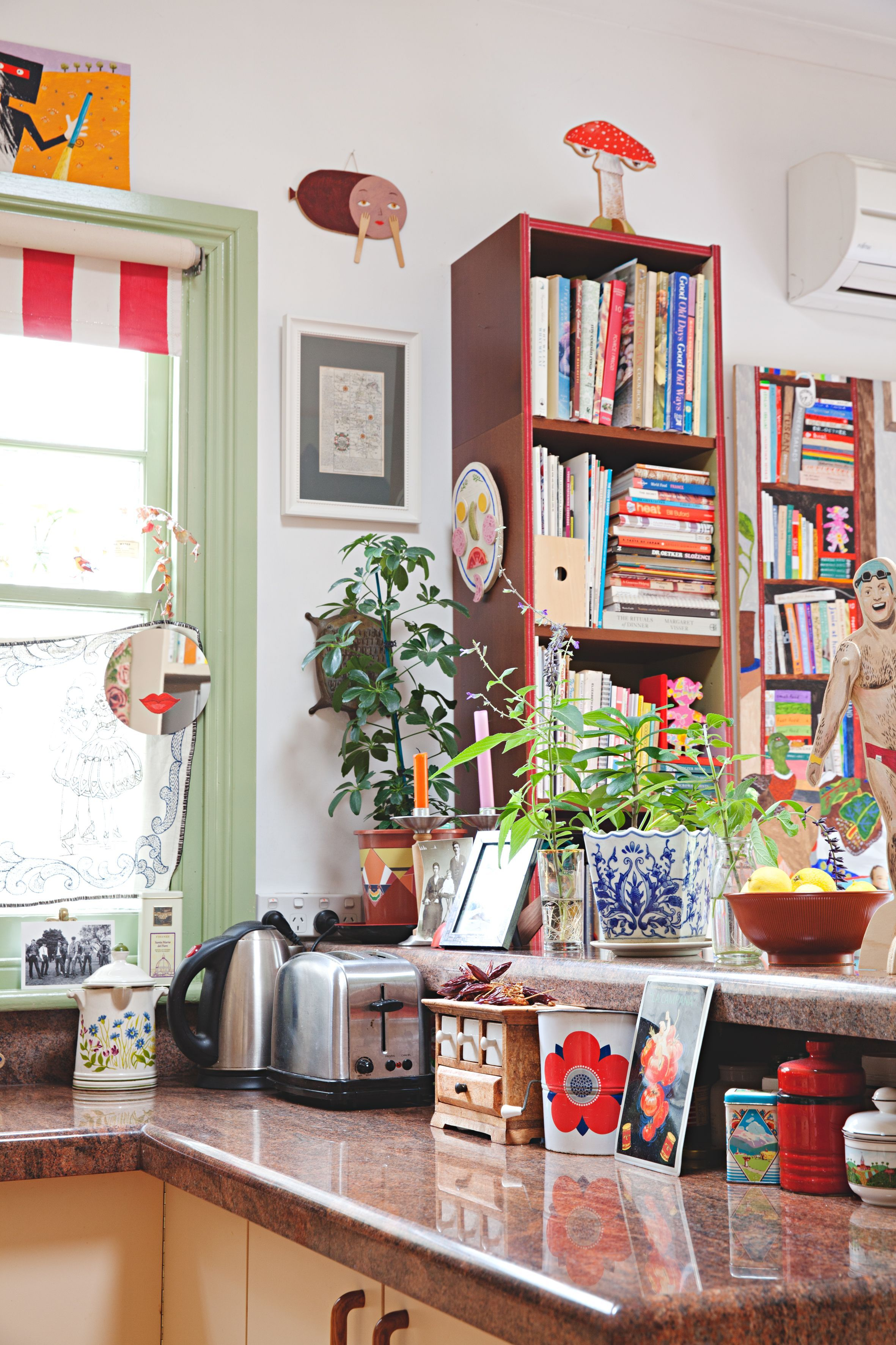 Eclectic Maximalism In Melbourne Eclectic Kitchen Maximalist