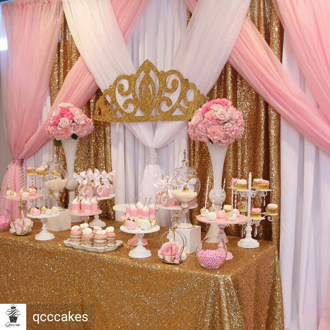 Pink and gold party \u2026 | Pinteres\u2026
