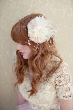 Roxie Bridal Hair Flower