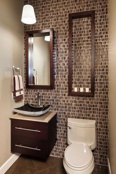 25 Modern Powder Room Design Ideas Diseno Banos Pequenos