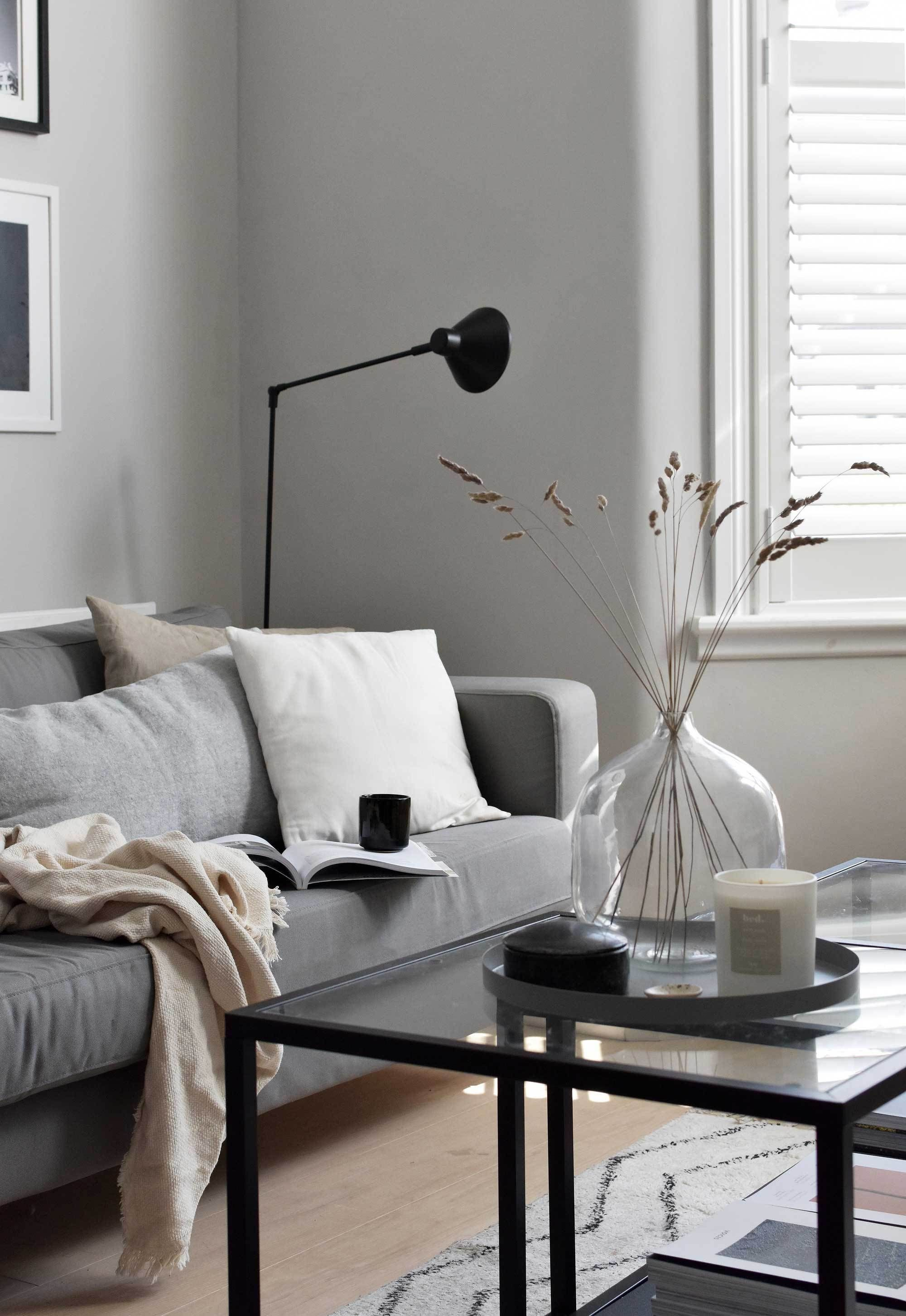 A Few Thoughts On Minimalism These Four Walls Summer Living Room Living Room Update Living Room Decor