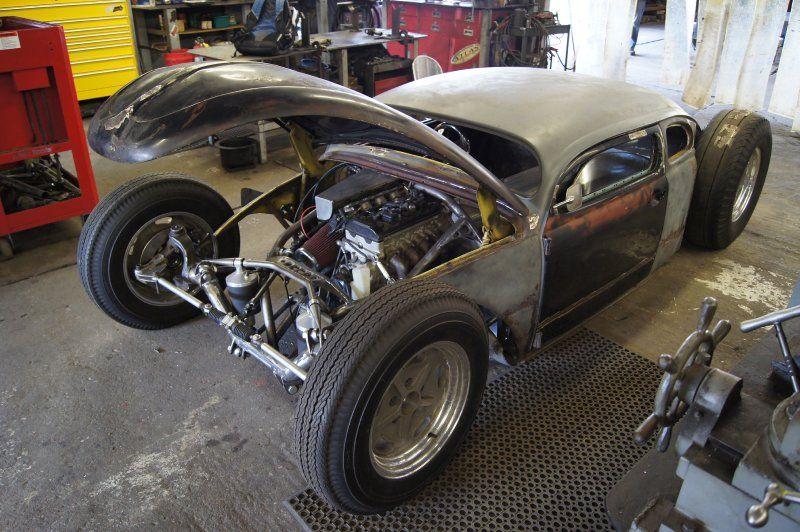 vw rat rod project custom axles drive shaft  gears hudlow driveline volksrod vw rat