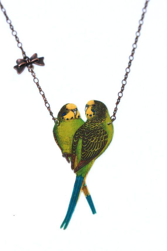 Budgie jewellery