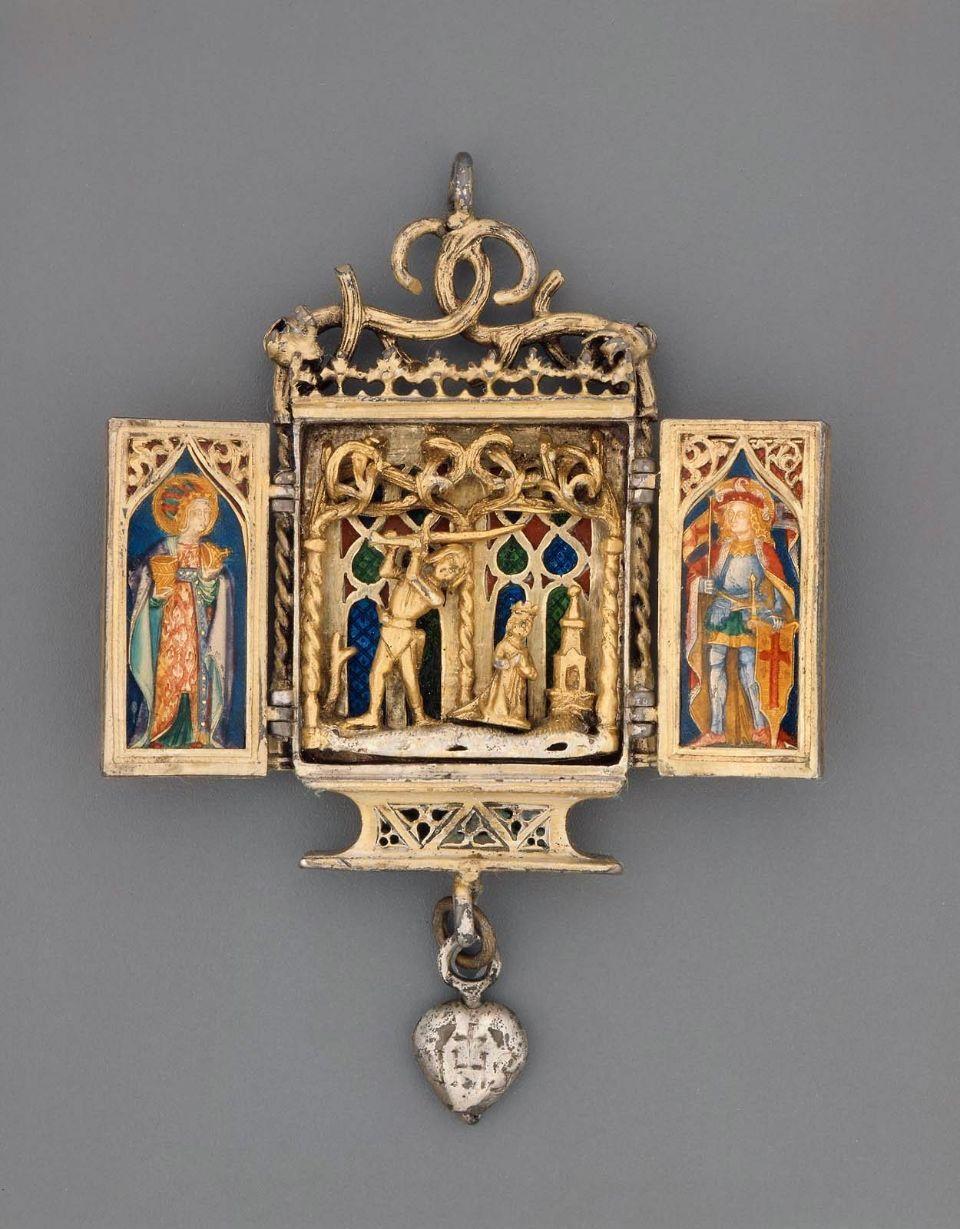 Martyrdom Saint Barbara