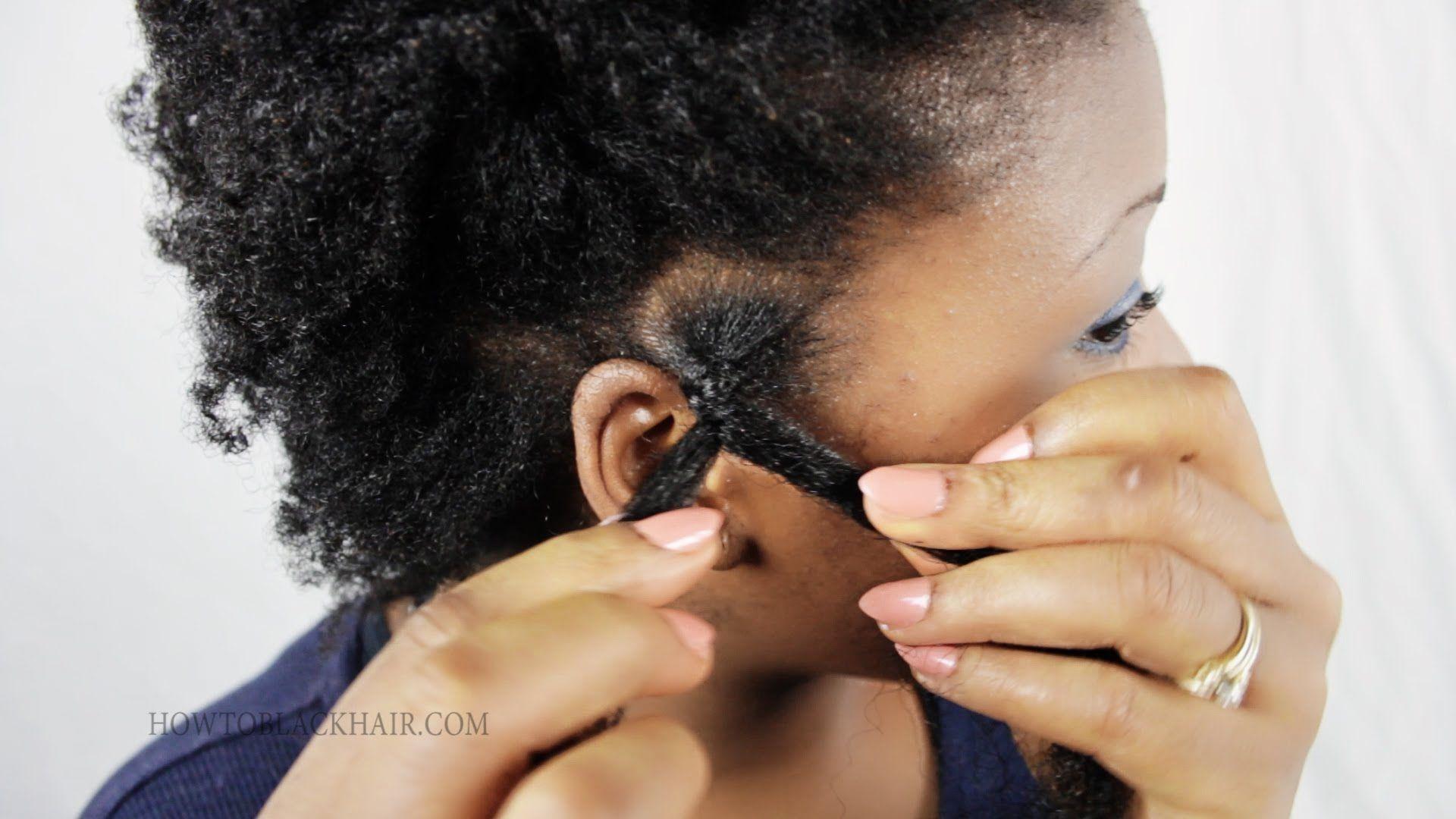 How To Do Afro Kinky Braiding Youtube 79