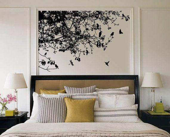 Schlafzimmer Wandtattoo Dekoideen fürs Haus Pinterest - wandtattoos fürs schlafzimmer