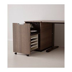 galant rangement pour imprimante gris ikea deco bureau bureau ikea ikea et conception. Black Bedroom Furniture Sets. Home Design Ideas