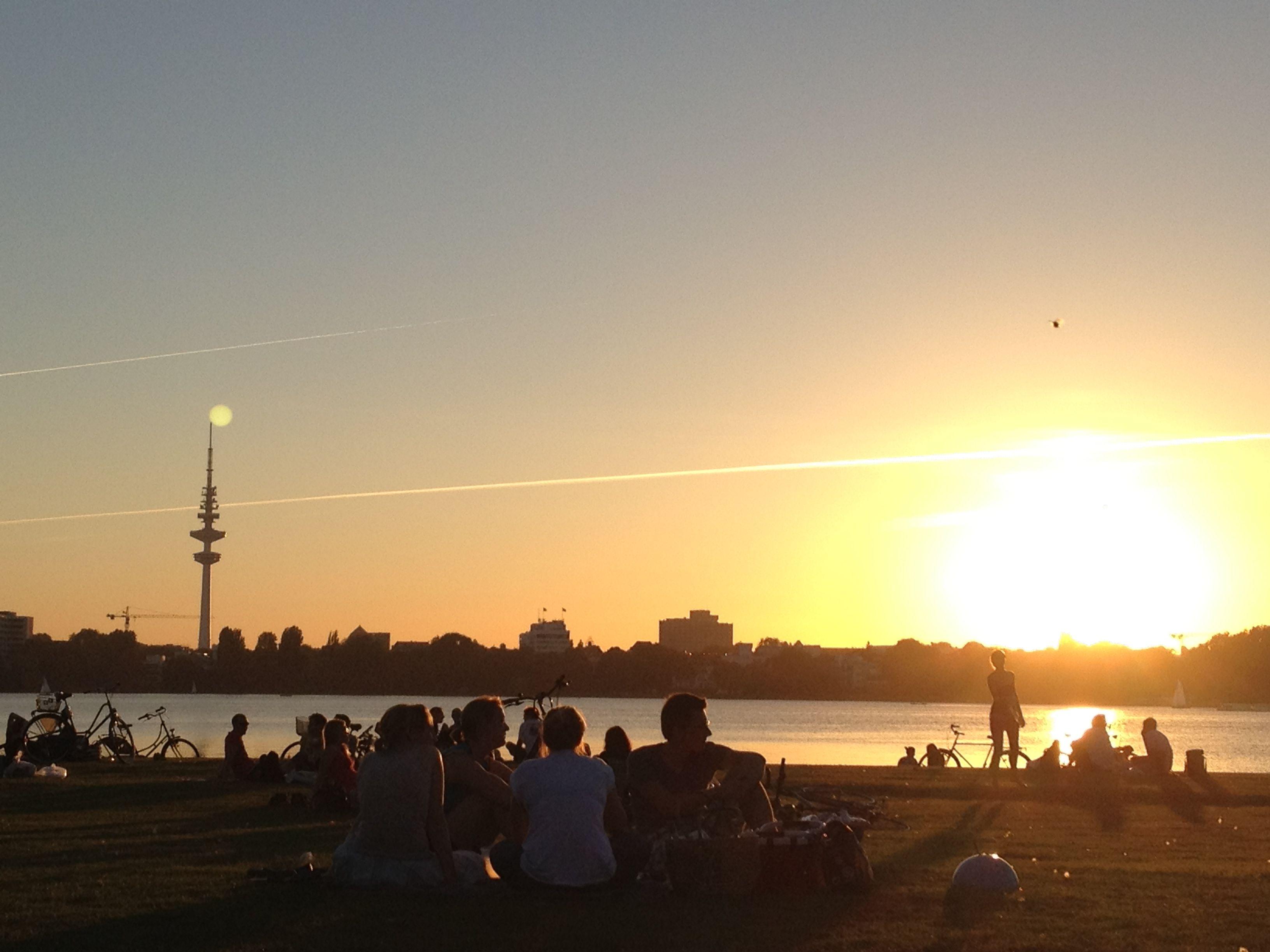 Alster Lake - Hamburg