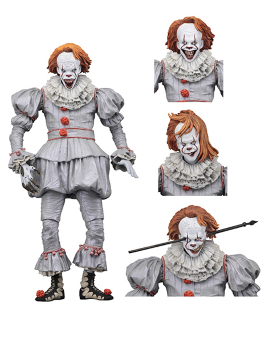 Neca 2017 It Ultimate Well House Pennywise 7 Scale Action Figure Pennywise Action Figures Pennywise The Dancing Clown