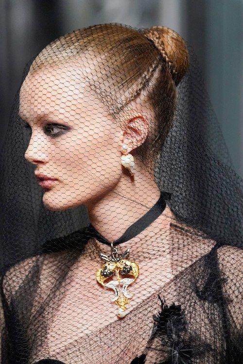#Dior / Hair By Guido Palau.   Don't forgot to check out our favorite hair at Paris Couture Fashion Week 2019!   #GuidoPalau #pariscouture #hautecouture #highfashionhairstyle #Chanel #Chanelhair #Valentino #Valentinohair #Fendi #Fendihair #Dior #Diorhair #Givenchy #MaisonMargiela #ViktorandRolk #Giambattista #ArmaniPrive #ParisCoutureFashionWeek #ParisCoutureFashion #ParisCoutureFashionWeek2019#FashionWeek2019 #FashionWeek #ParisFashionWeek2019 #ilesformula #vogue