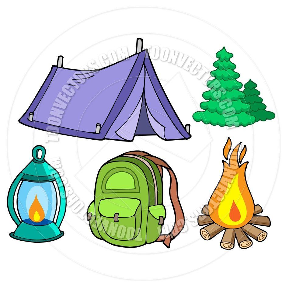 camping cartoons | Cartoon Collection of Camping Images | blps bus ...