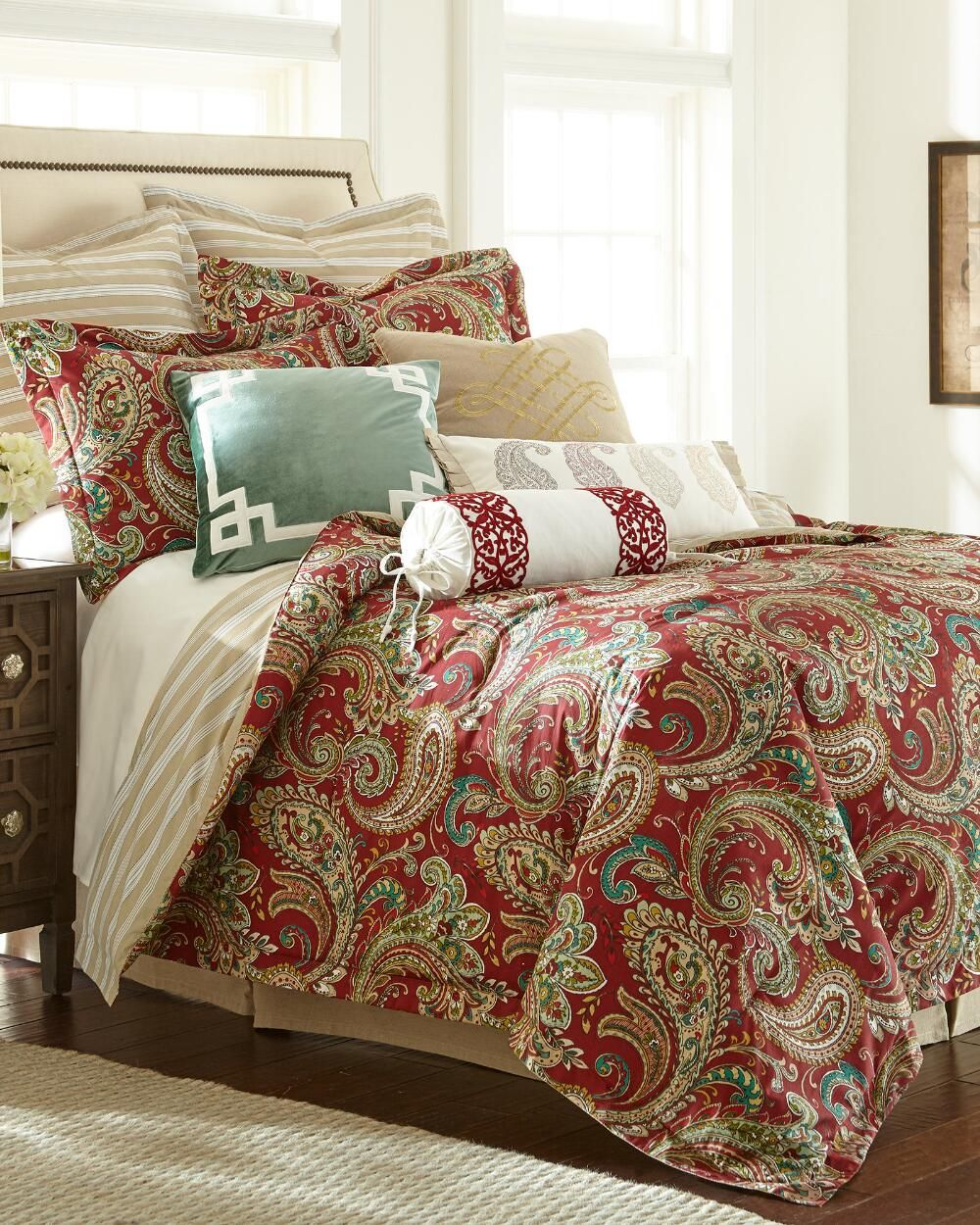 exclusively ours 5 piece huntington comforter collection bedding