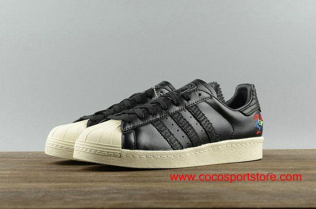 Adidas Superstar Limited BA7778 Mahjong Cock Womens Originals