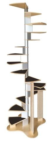 Best Spiral Cat Staircase New Special Holiday Pricing 400 x 300